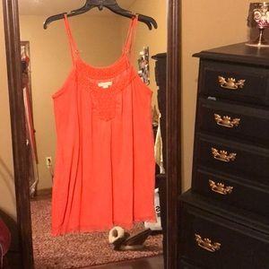 Sounthern peach colored top or dress